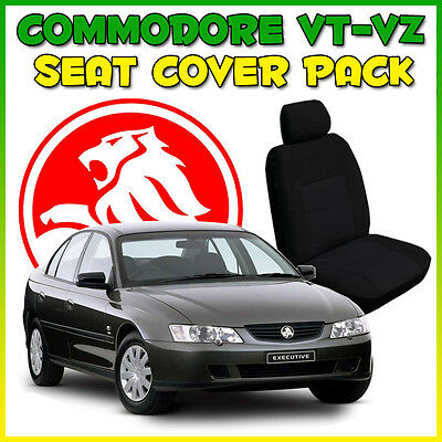 Commodore Vt Vx Vy Vz Tailor Custom Made Car Seat Covers Front & Rear Black New