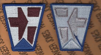 US Army 112th Medical Brigade dress Class A uniform patch