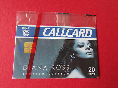 Telecom Eireann Diana ROSS Limited Edition CALLCARD Unused in Packaging