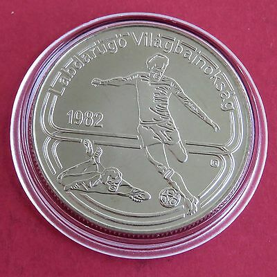 Hungary 1982 Football Unc 100 Forint