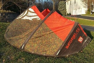 2011 Cabrinha Switchblade 10M Kiteboarding Kite
