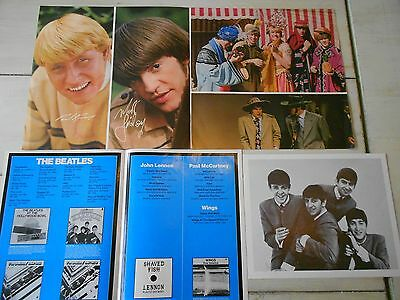Beatles Photo & Capitol Record Pamphlet & Paul Revere & The Raiders Photo Book
