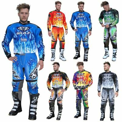 Wulfsport Motocross Mx Enduro Atv Crossfire Shirt  Race Off Road Jersey Trouser