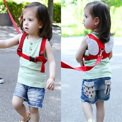 Baby Walking Harness Toddler Kids Anti-lost Safety Shoulder Strap Belt Leash