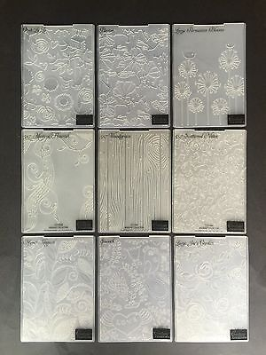 """Kaisercraft Couture Crafts Embossing Folders 5x7"""" for most die cutting machines"""