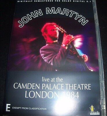 JOHN MARTYN live at the Camden Palace Theatre  (PAL All Region) DVD – Like New