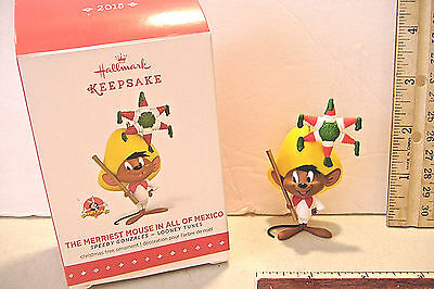 ~The Merriest Mouse In All Of Mexico~Speedy Gonzales~2015 Hallmark Ornament~