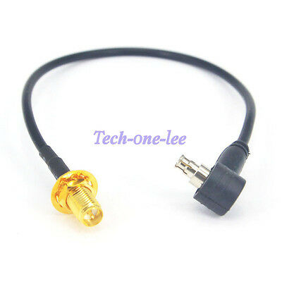 5pcs 7.9'' RP-SMA Female to TS9 Male Cable WIFI Antenna Extension RG174 20cm