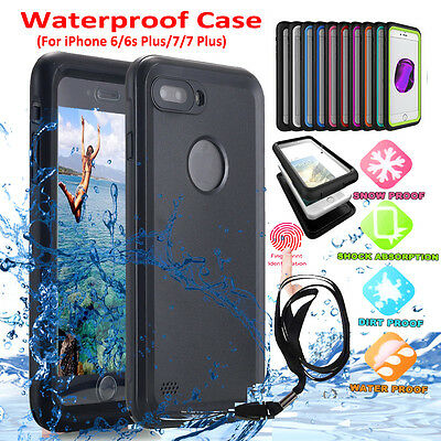 Shockproof Waterproof Dirt Proof Hard Case Full Cover For iPhone 6 Plus 7 7 Plus