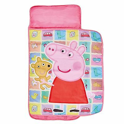 Peppa Pig Cosy Wrap Nap Bed Childrens Ready Bed New Official Free P+P