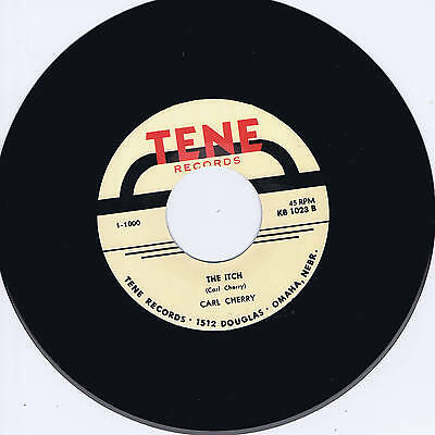 Carl Cherry - The Itch / Baby Doll - Legendary Rockabilly Bopper - Hot New Repro