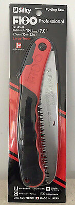 """Brand New Silky Fox F180 Large Teeth Folding Pruning Saw 7"""" Blade RECORDED POST"""
