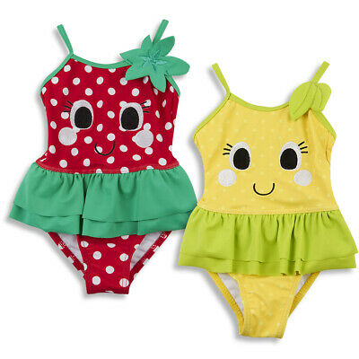Baby Babies Girls Novelty Fruit Swimming Costume Swim Suit 3-24 Months BABYTOWN