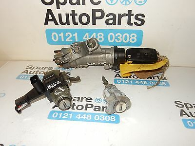 Vw Polo 9N3 Ignition Barrel With Key And Lock Set