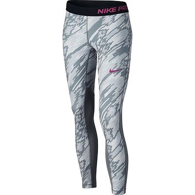 Girls Nike Pro Hyperwarm Flash Training Tights Sz M, L NEW 819731 043 MSRP $45
