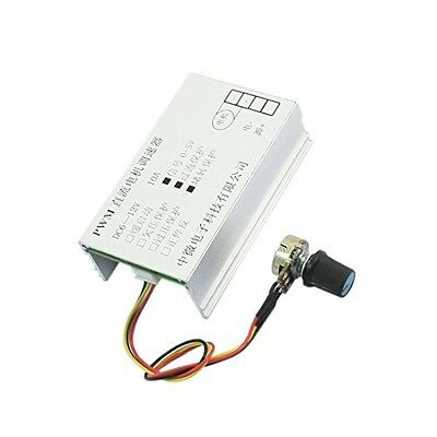 uxcell DC 6-12V 10A Rotary Potentiometer Knob PWM Motor Speed Controller