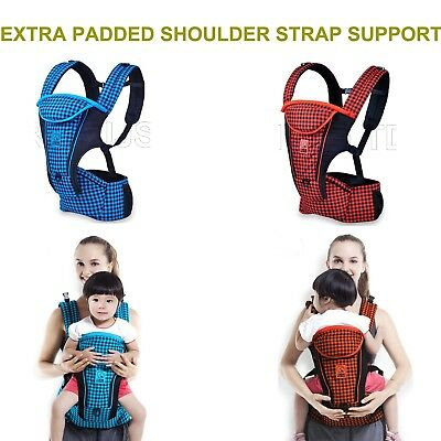 New Luxery Box Pack Strong Breathable Adjustable Infant Baby Carrier Backpack