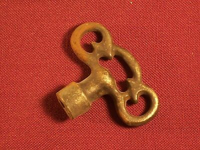 Antique Water Key Steam Heat Gas Valve Key Tool Steampunk