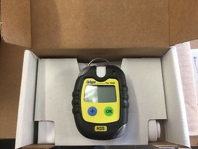 Drager PAC 3500 Single Gas Detector (H2S)