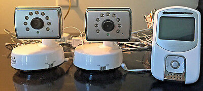 Summer Infant Baby Monitor with 2 Cameras Model 28030