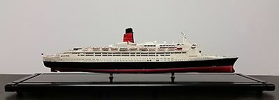 RMS Queen Elizabeth II 2 QE2 Museum Quality Assembled Model