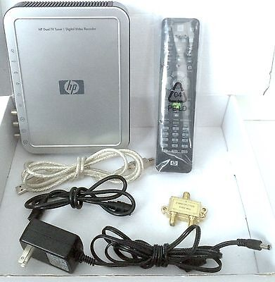 HP Dual TV Tuner Digital Video Recorder AVC-3610/HP W/ Accessories