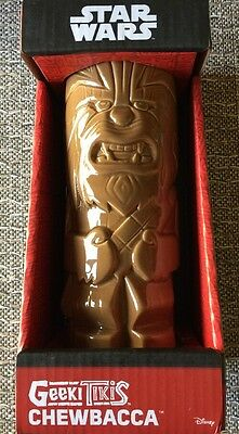Star Wars Geeki Tiki Mug CHEWBACCA COLLECTIBLE Chewie ~Sold Out~