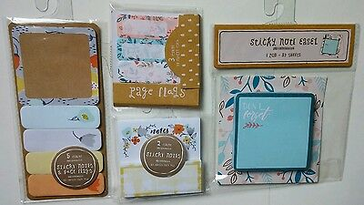 Floral One Spot Lot Page Flags Sticky Note Easel stationery Target C