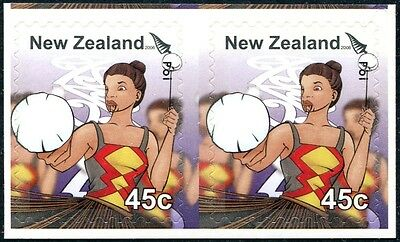 New Zealand 2006 UNISSUED Kapa Haka 45-cent Booklet Pair, MNH fine and most RARE