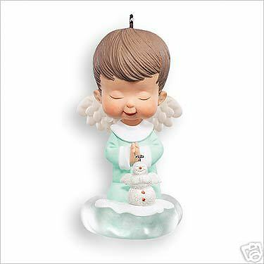 2007 Hallmark MARY'S ANGELS #20 Ornament SNOWBALL *Priority Shipping* Snowman