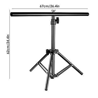 """Neewer 16-30"""" Adjustable Tripod and 26.4"""" Boom Arm with 2 Clamps for Photography"""