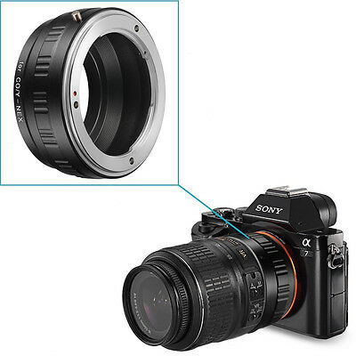 Neewer Lens Adaptor for CY Lens to Sony NEX E-Mount Camera Mount Adapter