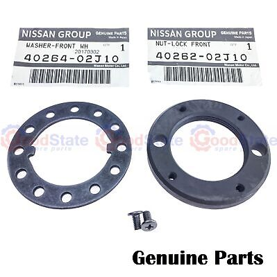 Genuine Nissan Patrol Gq Gu Wheel Bearing Lock Nut Conversion Kit