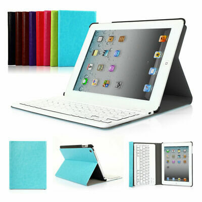 For Apple iPad 2 3 4 iPad Air 1 2 iPad Pro 9.7'' Bluetooth Keyboard Case Cover