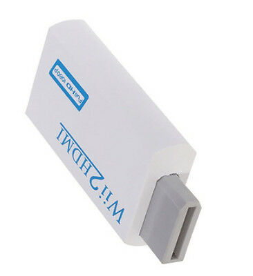 Wii2HDMI converter Adapter Wii to HDMI Audio HDMI 1080P 720P for NTSC 480i  UK