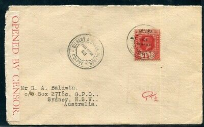Gilbert And Ellice Islands Tuvalu Nui World War Two Censor