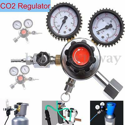 Beer Home Brew CO2 Regulator Carbon Dioxide Professional Quality Multi Gas