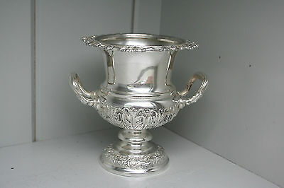 Vase  English Silver  Baby Wine Cooler Design Victorian 1898
