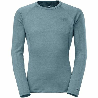 The North Face Men's WARM CREW Neck L/S Wicking Base Mid Layer Top Diesel Blue M