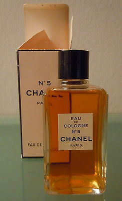 CHANEL N. 5 Eau de cologne Vintage New with box Made in France