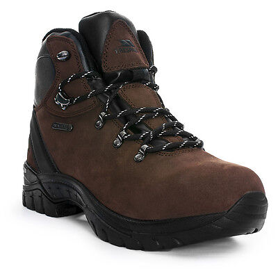 Trespass Mens Source Waterproof Breathable Leather Walking Boots