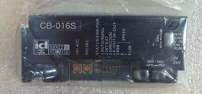 Itoh-denki CB-016S Driver Card Brand New! In OEM Packaging