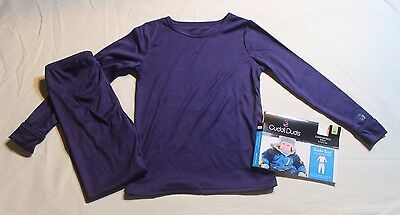 NEW~ CUDDL DUDS NAVY Long Underwear Set BOYS SIZE 2T 3T