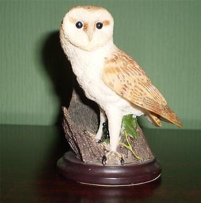 THE BARN OWL Ornament COUNTRY BIRD COLLECTION Sculpted by ANDY PEARCE