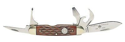 Boy Scout Official Licensed 5 Multi-Tool Stainless Steel Deluxe Pocket Knife New