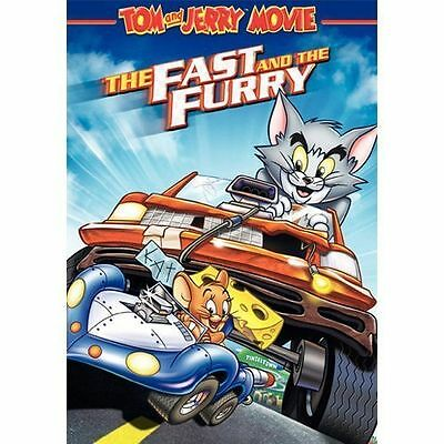Tom and Jerry -  The Fast and the Furry DVD