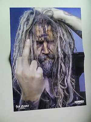 Rob Zombie  /  King Diamond    Large  Poster  LMJ54