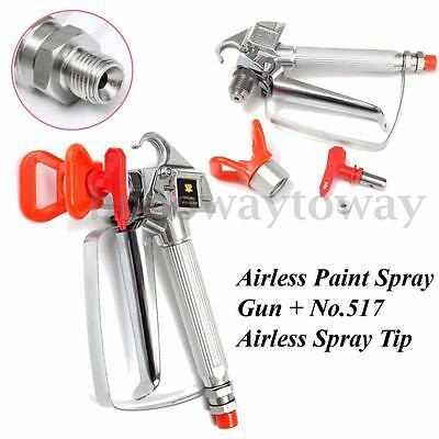 3600 PSI Airless Spray Gun For Graco TItan Wagner Paint Sprayers With Spray Tip