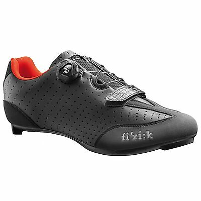 Fizik R3B Uomo Road Bike/Cycling/Cycle Shoes - Black / Red - UK 9 / Euro 43