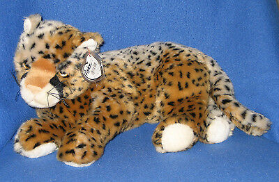 TY CLASSIC PLUSH - PISTON the LEOPARD - MINT with MINT TAGS - RARE!!!!